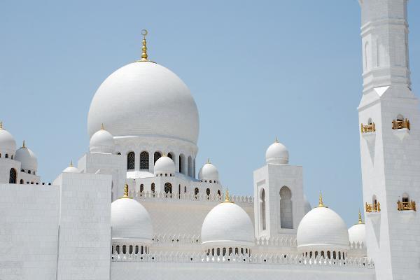 La perla bianca di Abu Dhabi