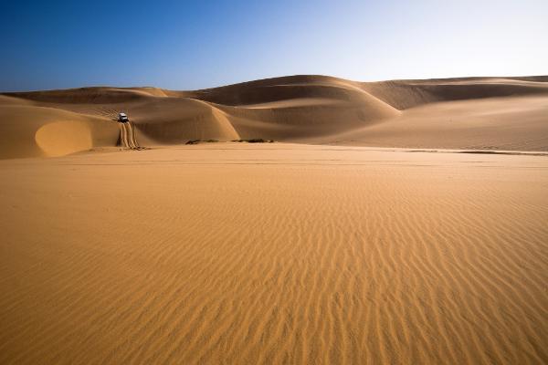 Una stupefacente lezione tra le colline di sabbia della Namibia