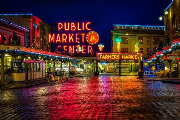 Il mercato più colorato degli Stati Uniti