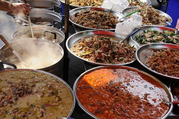 Le strade del gusto di Bangkok