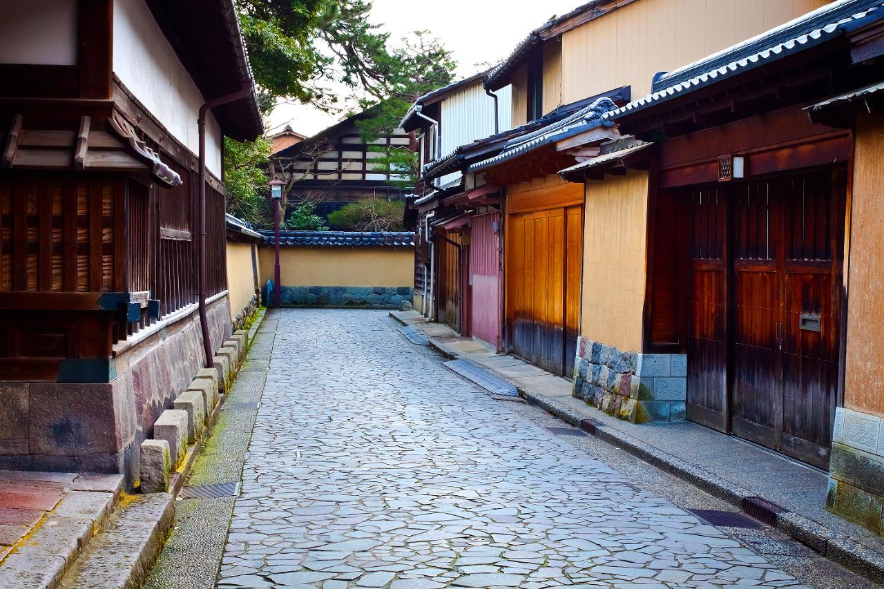 Fluidtravel un quartiere di miti e leggende for Case giapponesi antiche