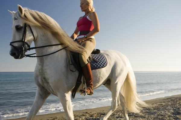 A cavallo sulle black sands