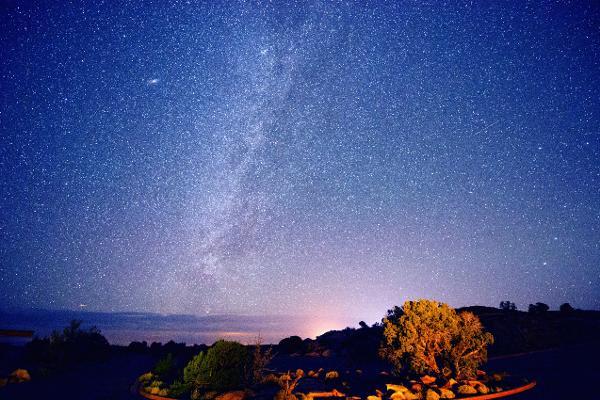 Nel deserto del New Mexico in comunione coi cieli