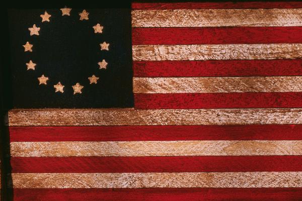 A casa della bandiera americana