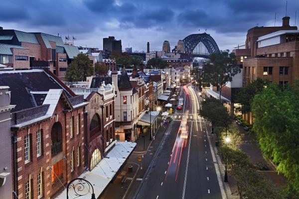 Una finestra sul passato di Sydney
