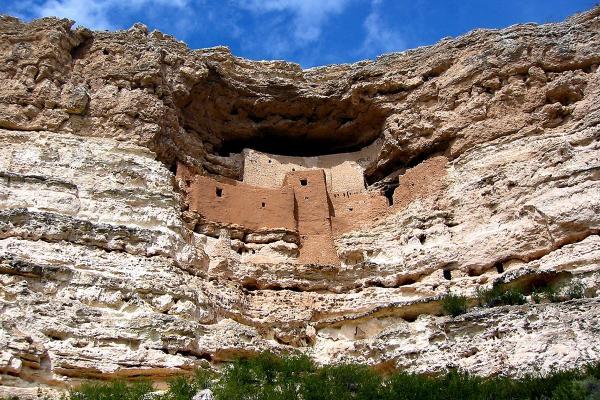 Il castello di Montezuma
