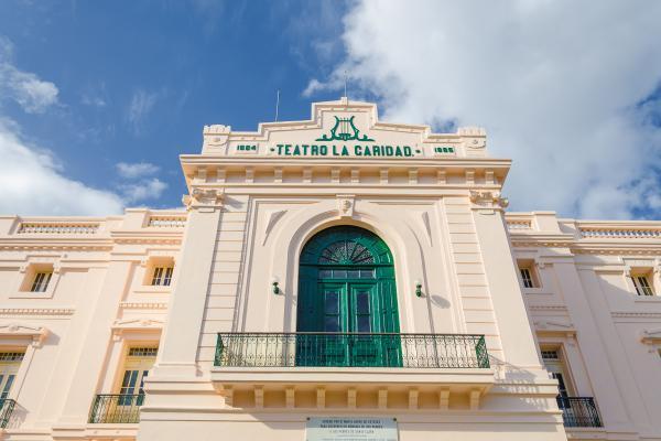 Un teatro di età coloniale