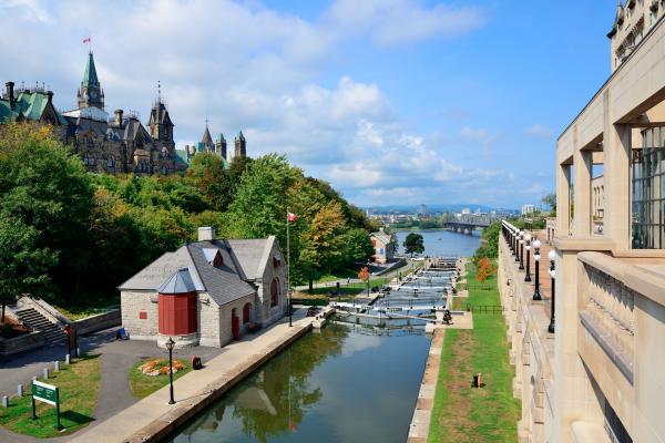 Il lento scorrere di Ottawa
