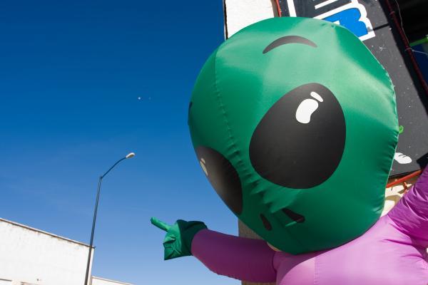 La città degli UFO