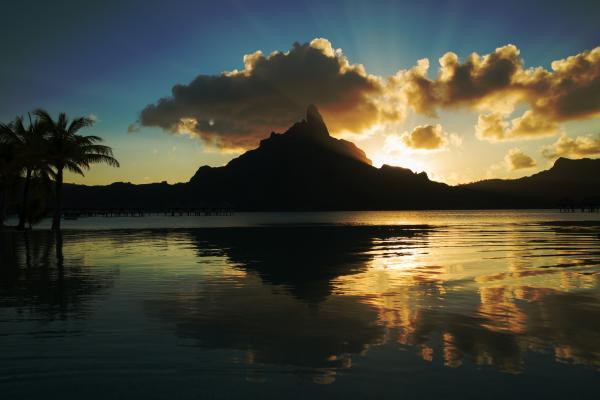 I colori di Bora Bora