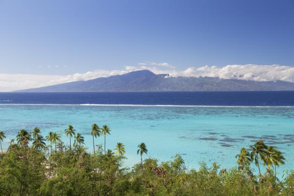 Dall'alto di Tahiti