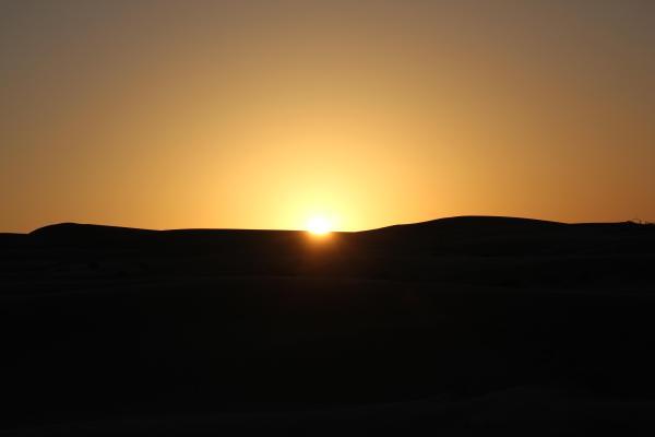 La notte dei deserti