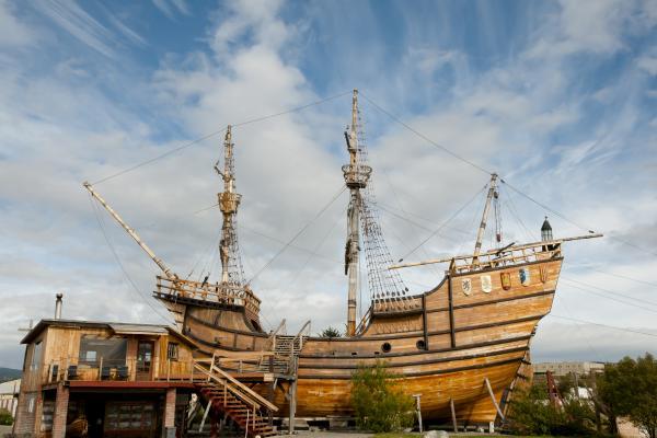 Sulla nave di Magellano