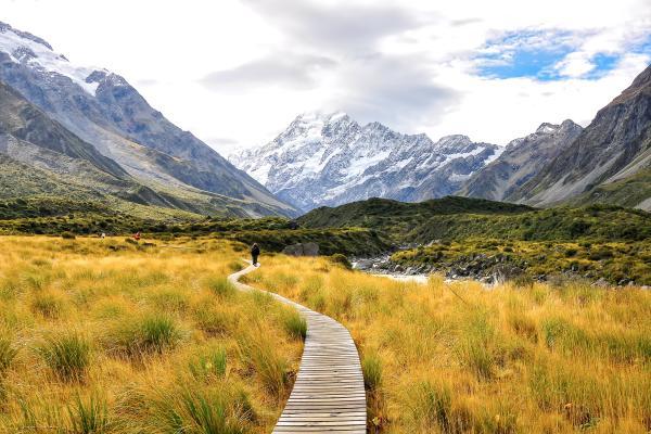 Sul tetto della Nuova Zelanda