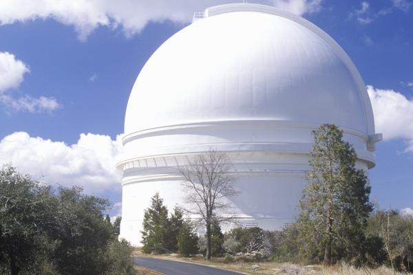 Palomar, o la storia dell'astronomia