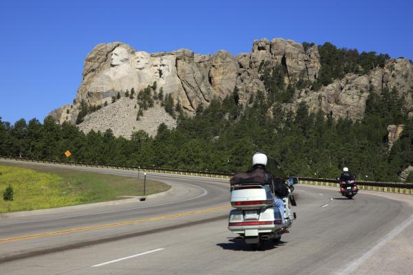 In moto verso il Monte Rushmore
