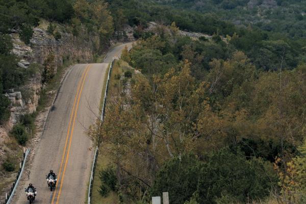 Su e giù sulle strade del Texas!