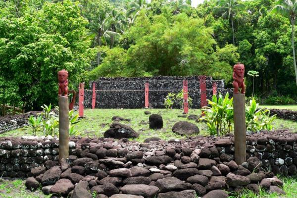 Il marae di Tahiti